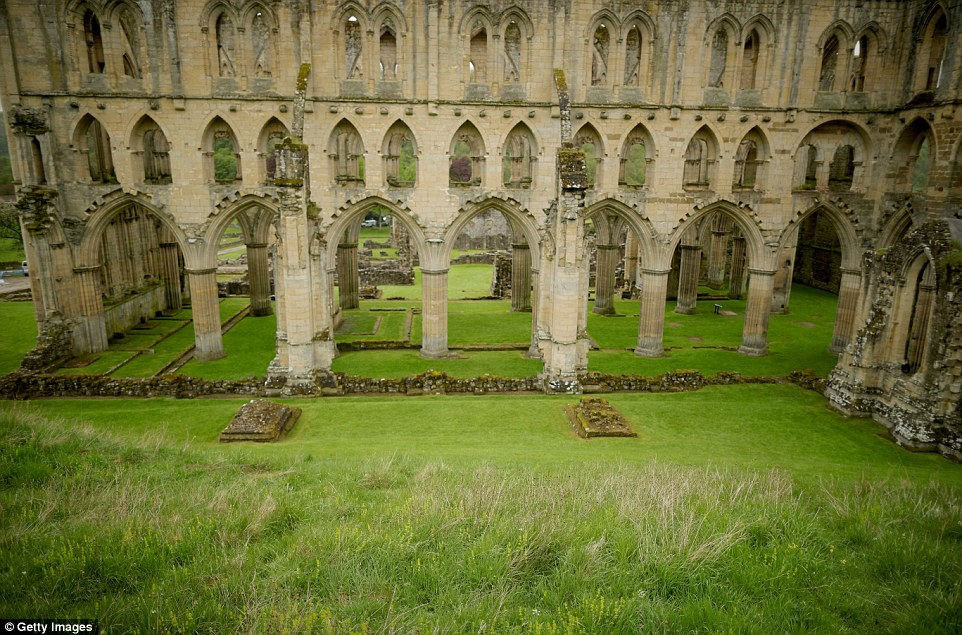 Cistercian Monks Return To The Ruins Of Rievaulx Abbey