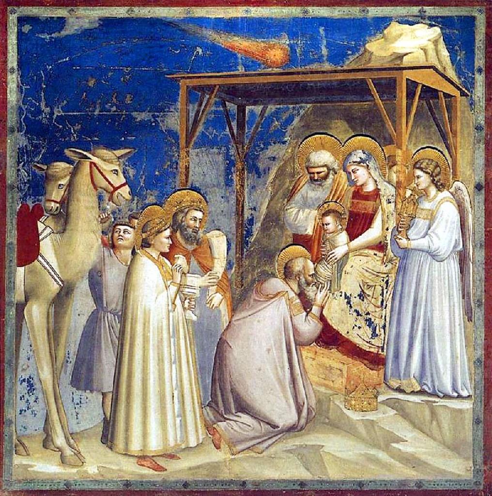 L'Adoration des Mages de Giotto