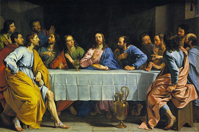 Philippe de Champaigne, La Cène, vers 1652, huile sur toile, Paris, musée du Louvre © Musée du Louvre