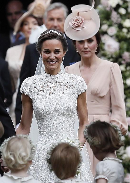 Je veux la même robe de mariée que Pippa