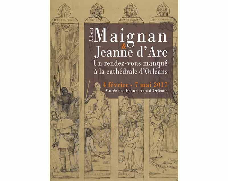 Affiche de l'exposition / Musée des Beaux arts d'Orléans
