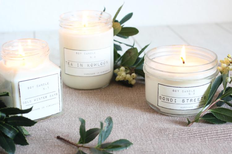 Les bougies parfumées DIY de Fanny
