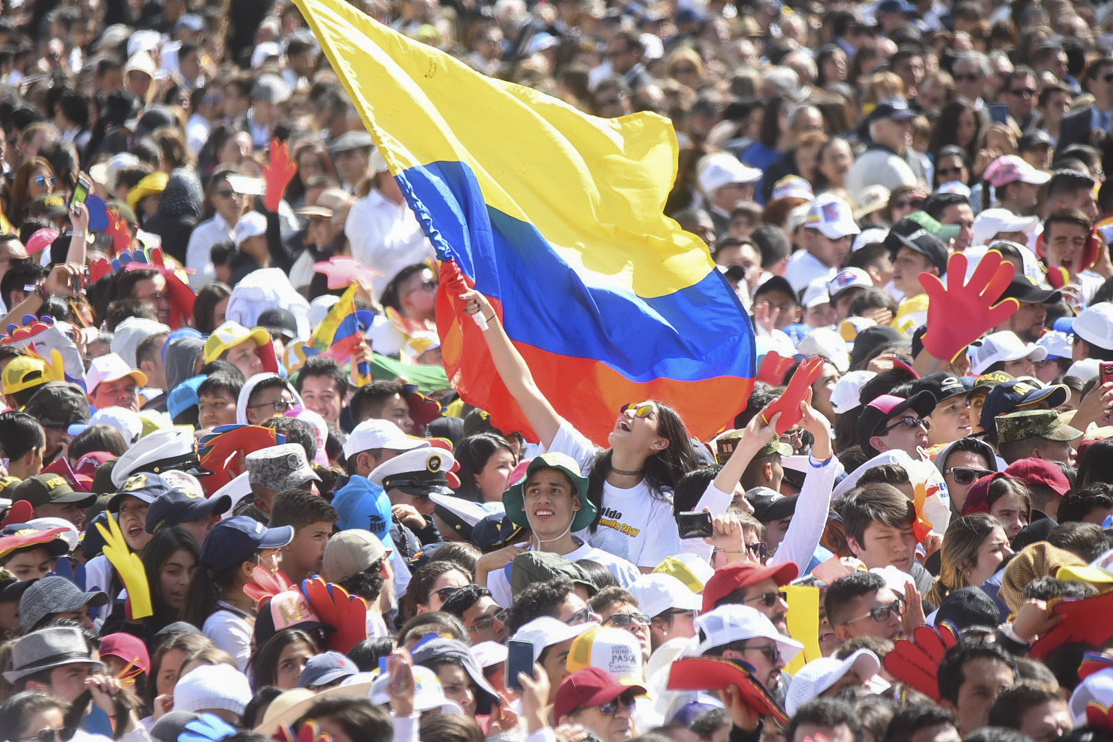 POPE FRANCIS,COLOMBIA
