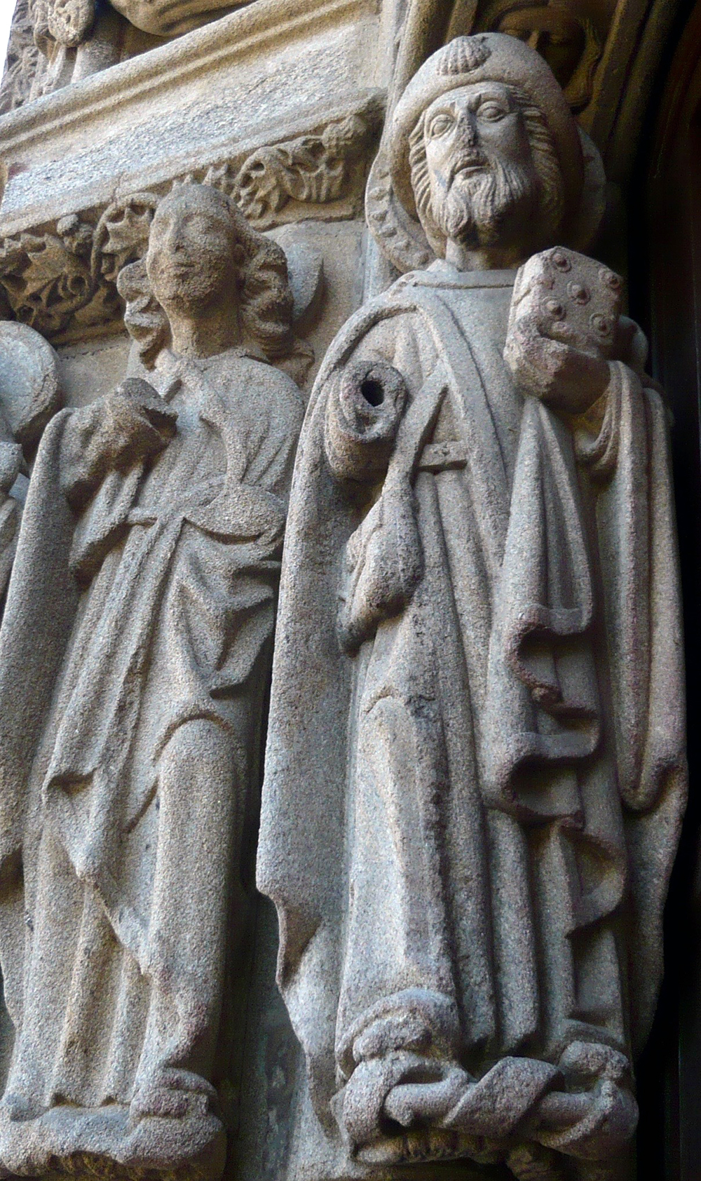 Saint Jacques et son frère Jean