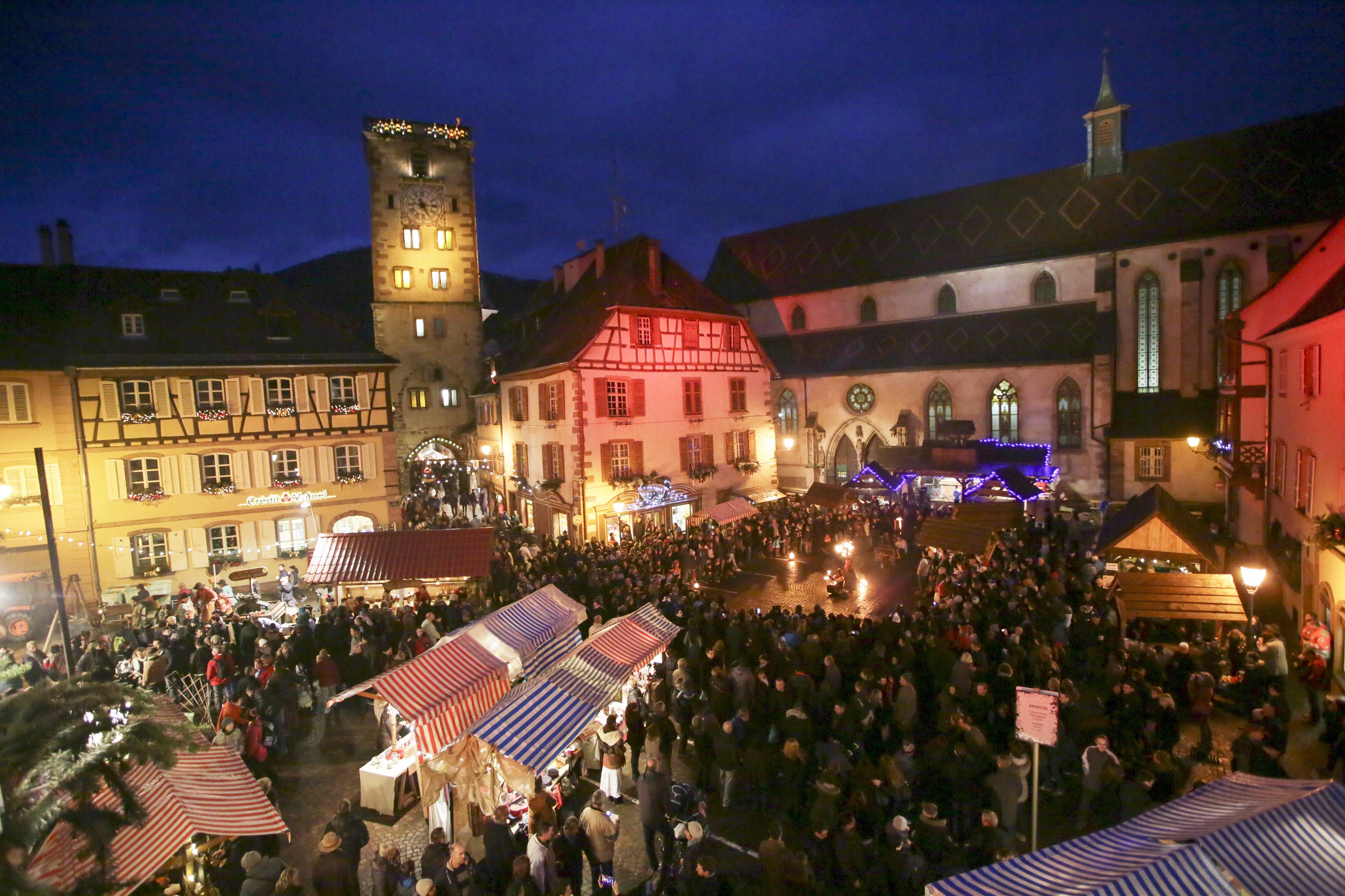 Le marché de Noël de Ribeauvillé en Alsace