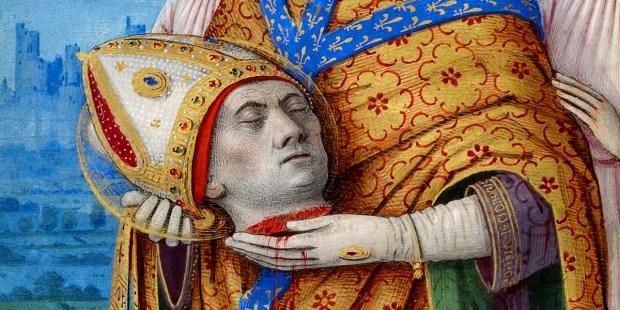 Les martyrs de l'Eglise primitive - À lire ! Merci mon Dieu de pouvoir encore professer notre foi ♥ - Page 2 Web-saint-oct-09-denis-of-paris-public-domain
