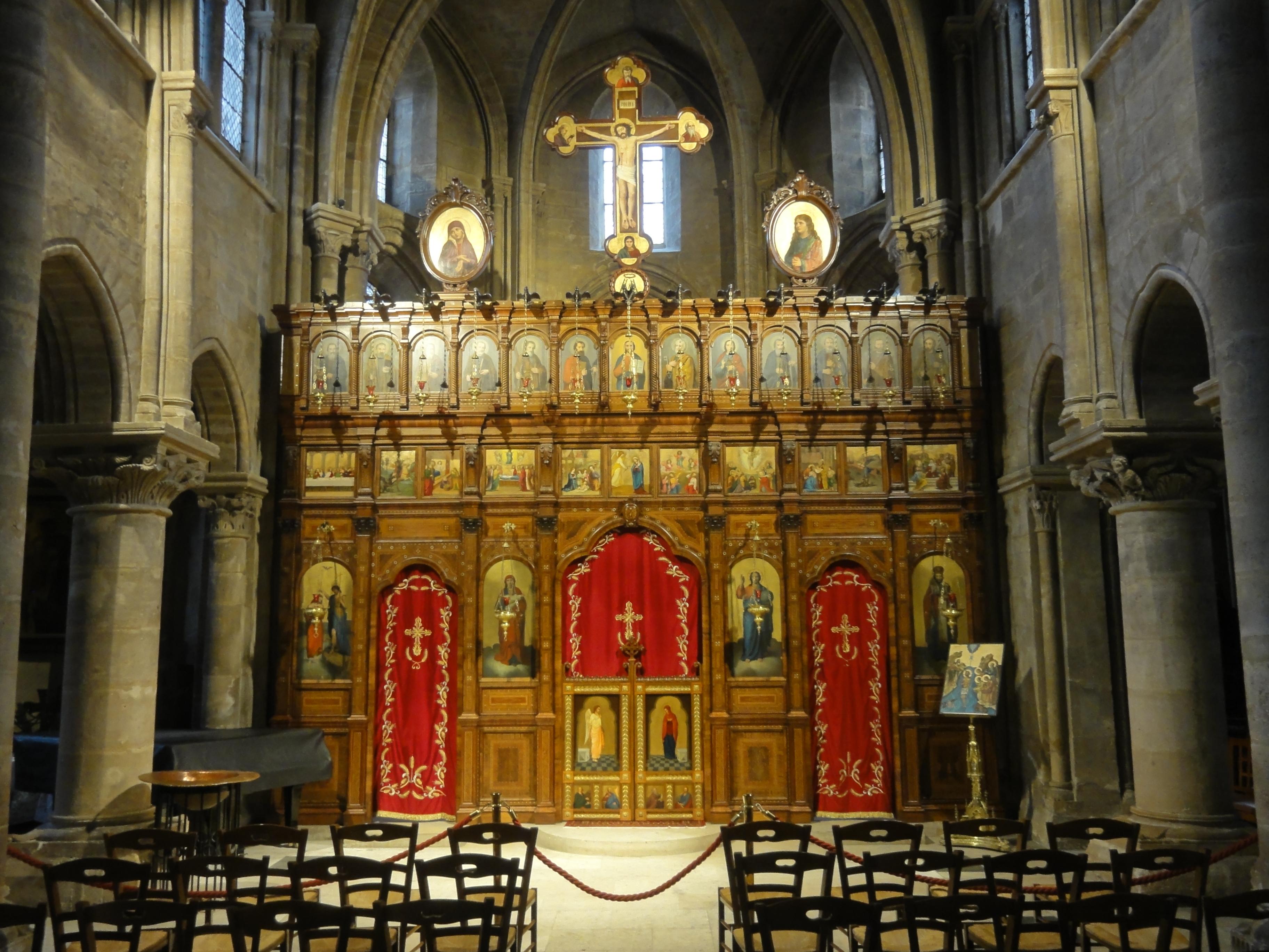 Iconostase de saint julien le pauvre