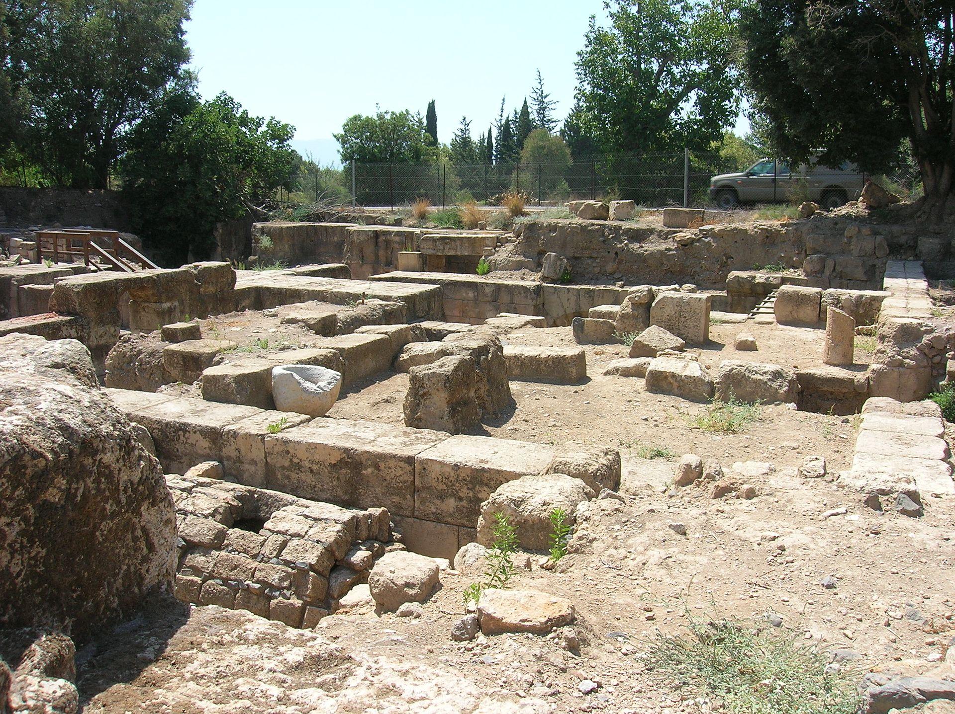 Le palais d'Hérode Agrippa II Banias