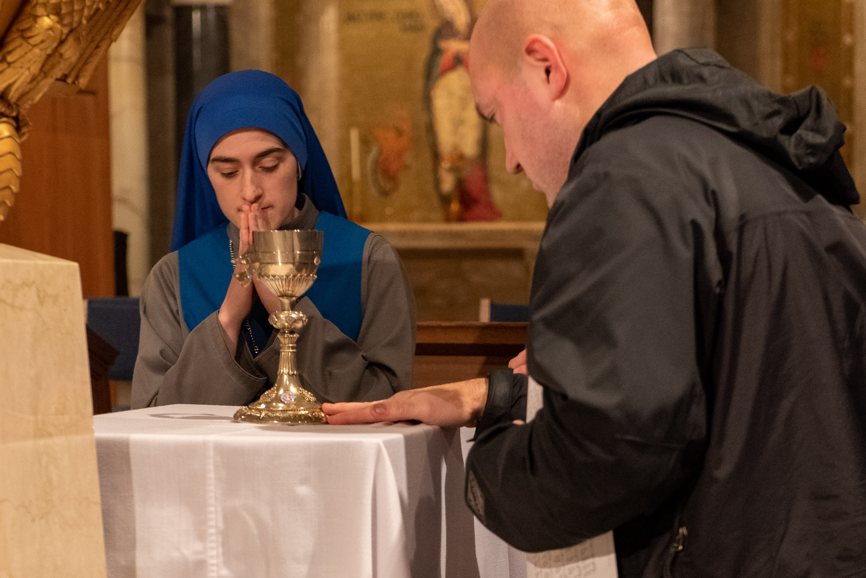 CHALICE HIT BY BULLET IN IRAQ