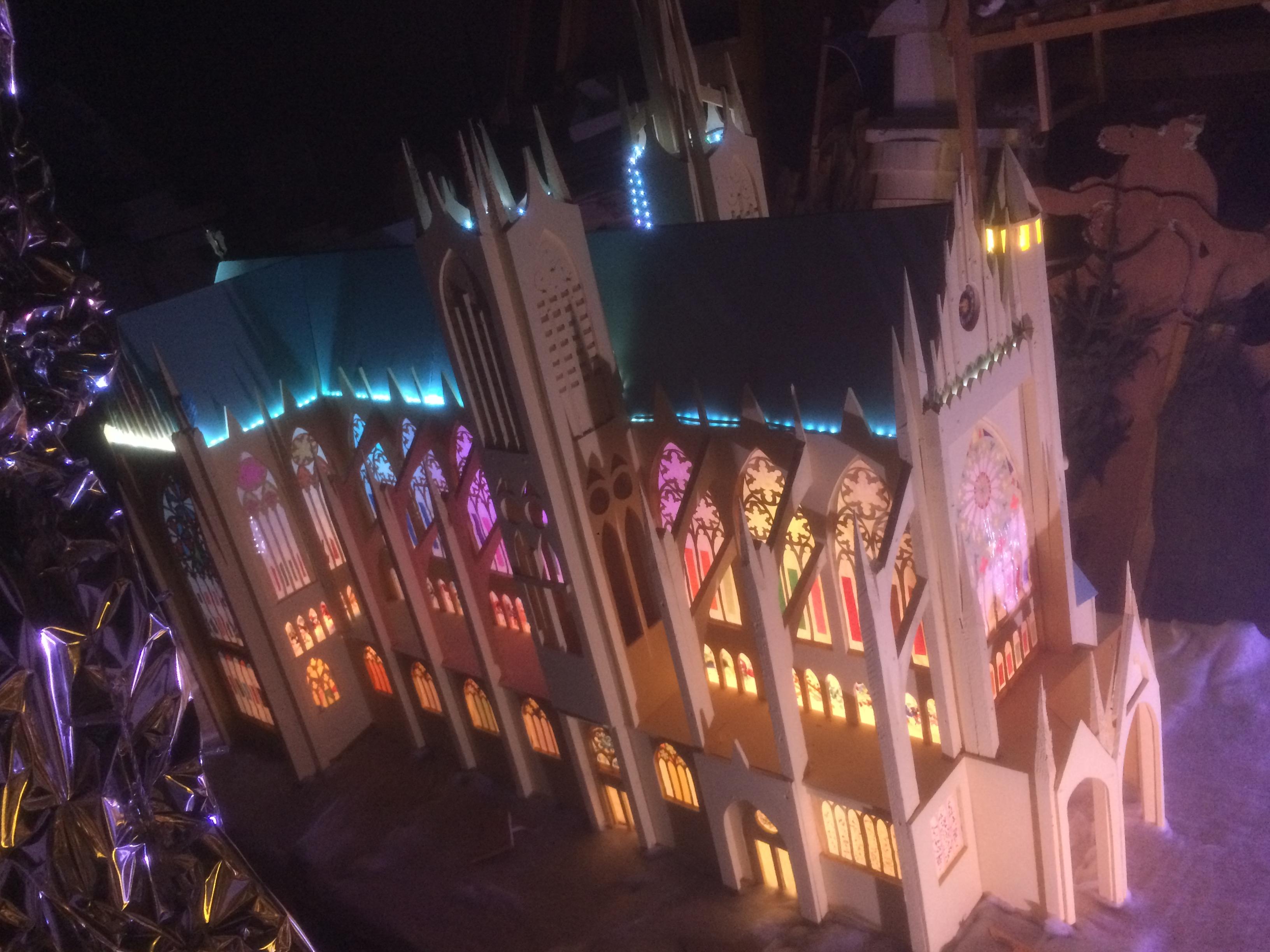 Maquette cathédrale de Metz