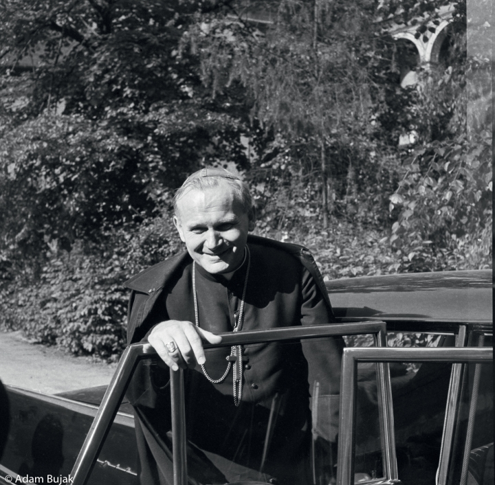 ARCHBISHOP KAROL WOJTYLA AFTER RECEIVING INFORMATION ABOUT HIS NOMINATION FO CARDINAL, CRACOW, JUNE 1967