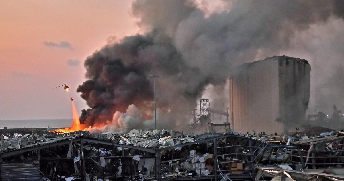 Double explosion meurtrière à Beyrouth