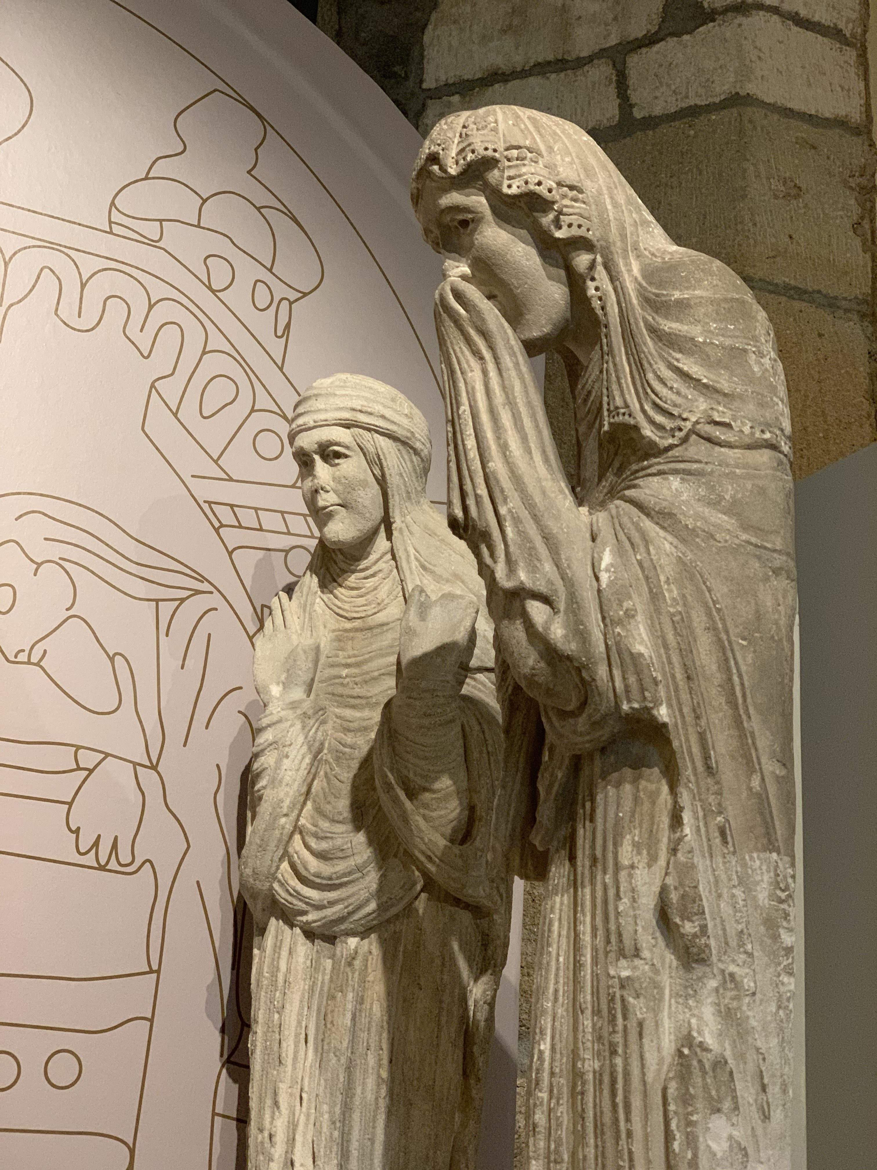 The tomb of St Lazare Museum Rolin