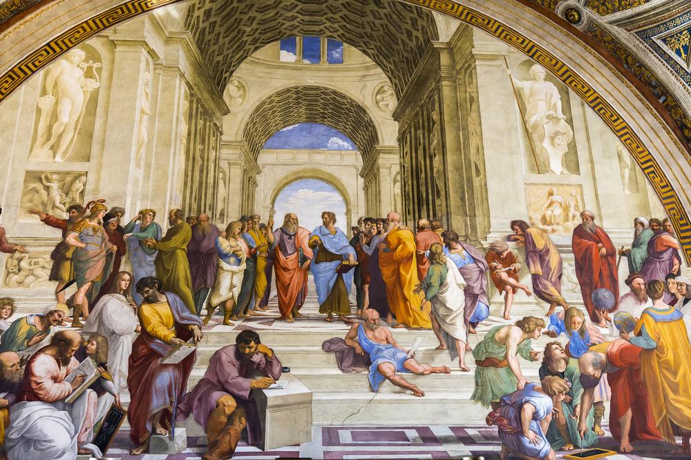 « L'école d'Athènes » - Vatican